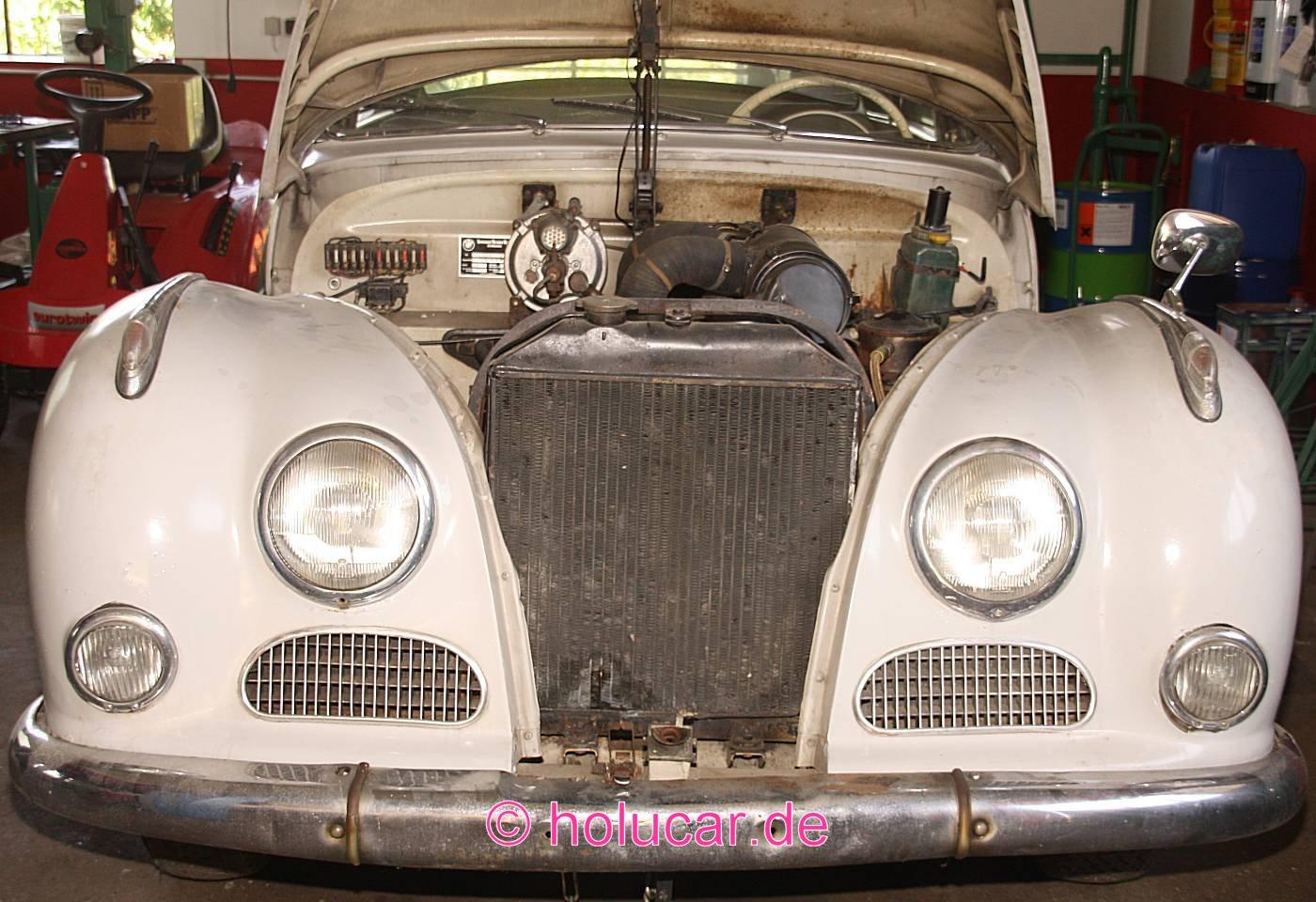 Bmw 502 v8 baujahr 1959 holucar 502 motoring