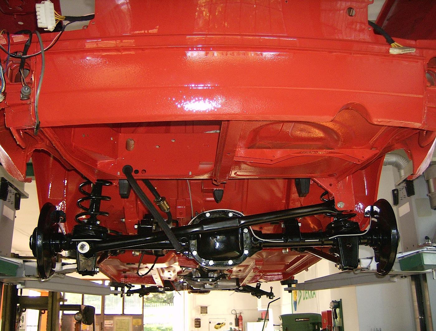 Fiat Spider Holucar Oldtimerrestaurierung