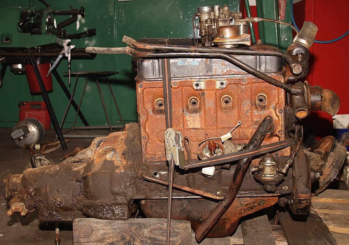 Opel Olympia Baujahr 1952 Holucar Oldtimerrestaurierung