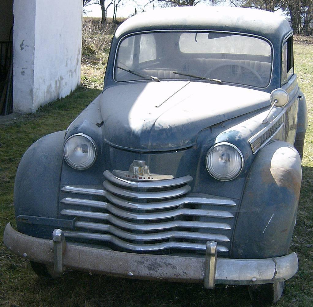 Opel Olympia, Baujahr 1952 - Holucar Oldtimerrestaurierung