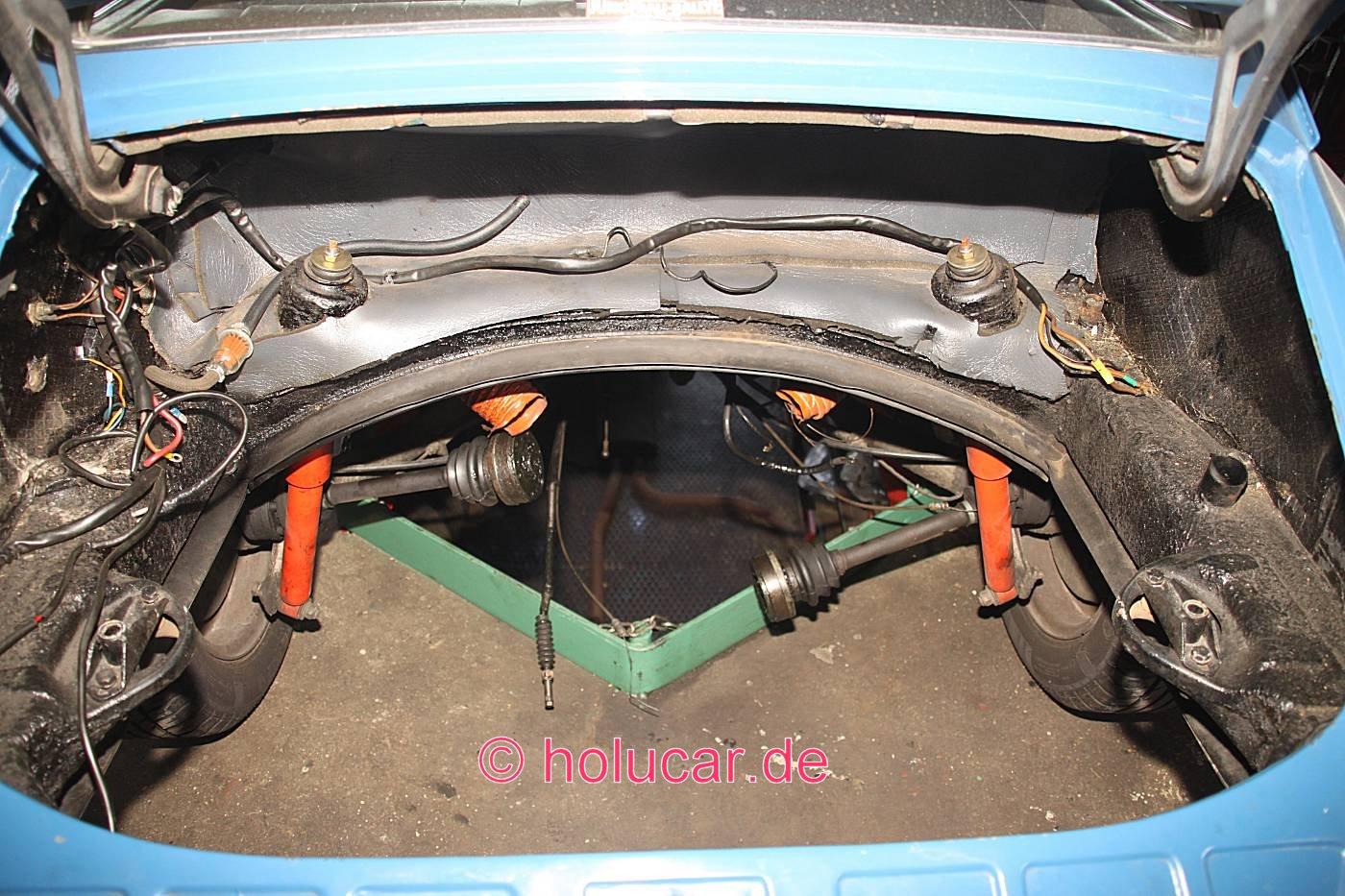 Porsche 912 Baujahr 1965 Holucar Oldtimerrestaurierung