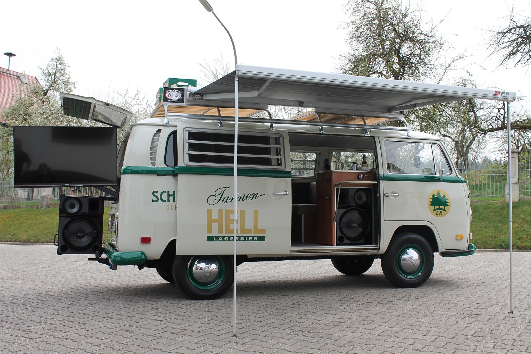 Vw Bus T2 Schlossbrauerei Hohenthann Holucar