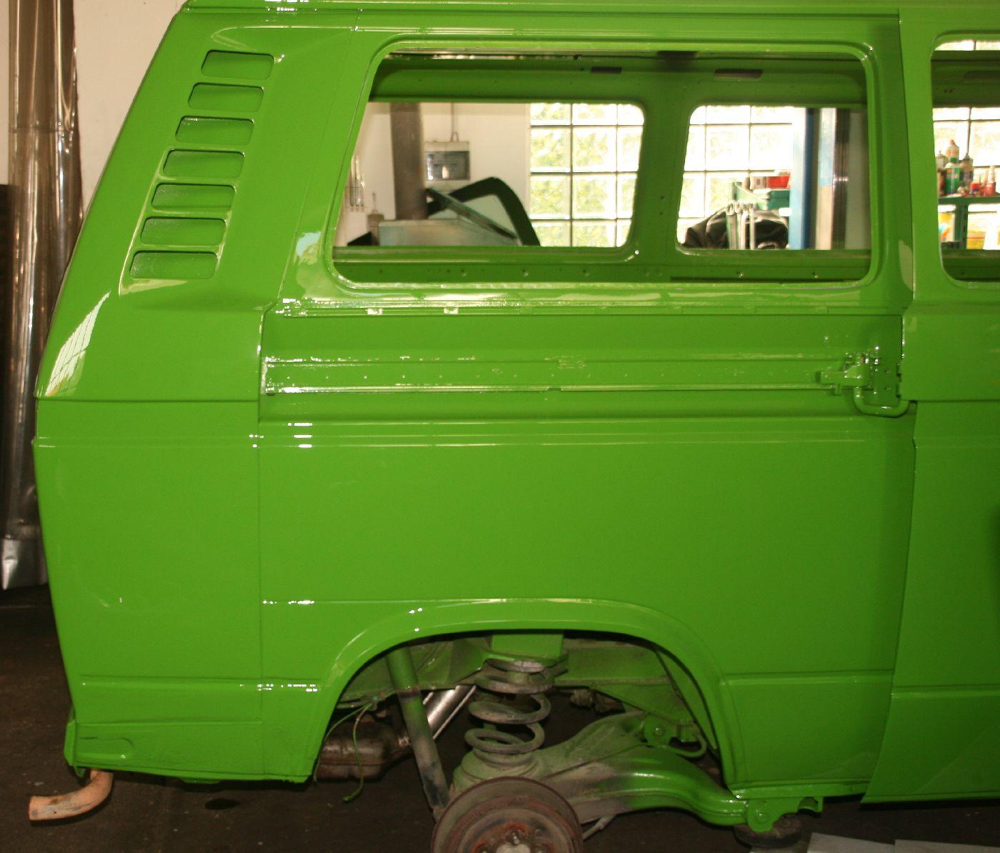 Vw Campingbus T3 Baujahr 1983 Holucar Oldtimerrestaurierung